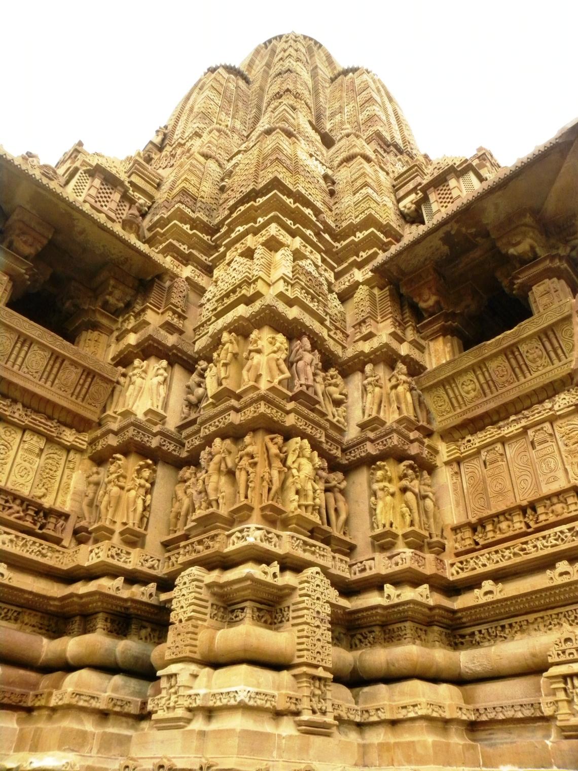 Khajuraho struck