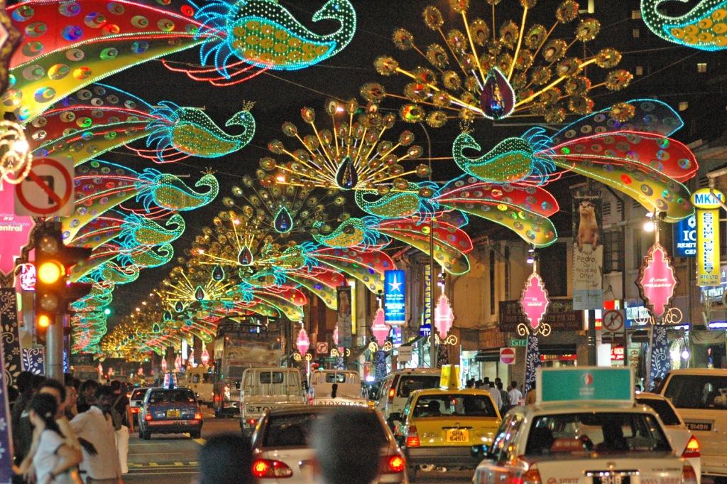 Celebrating Diwali in Singapore!
