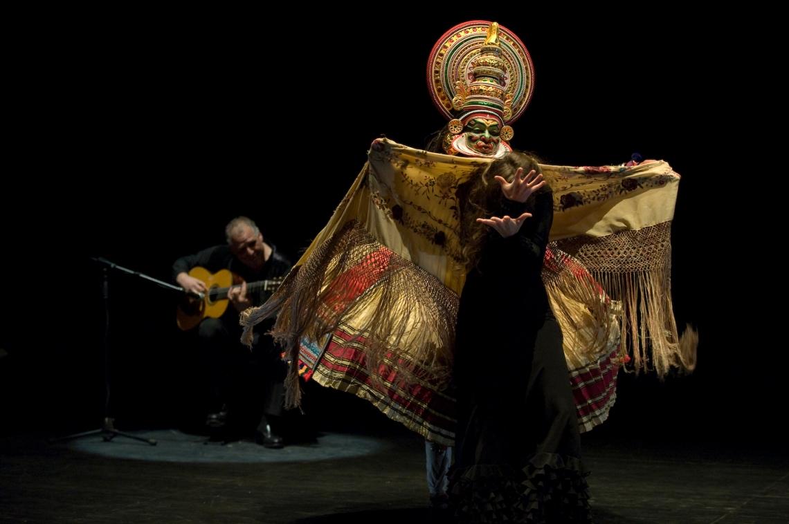 Kathakali-Flamenco fusion of Mahabharata theme entices Delhi crowd