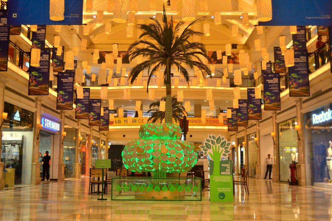 Green Diwali at DLF Promenade Delhi