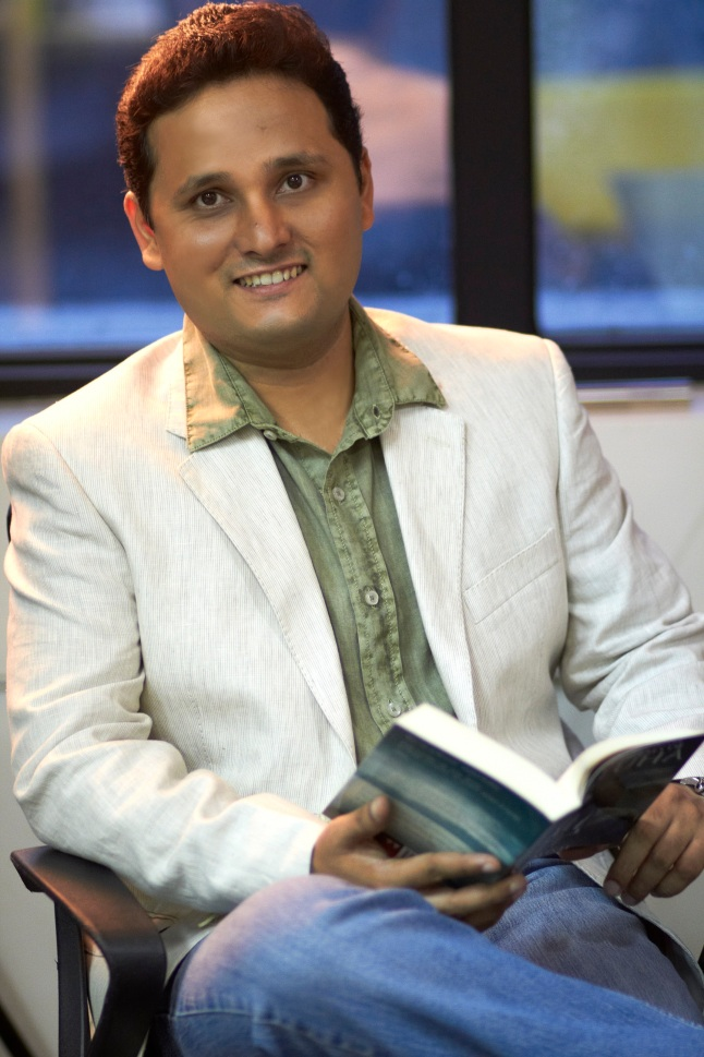 Tale of a Shiva devout: Amish Tripathi