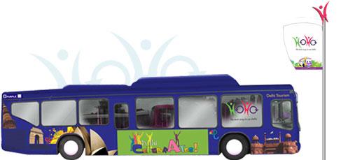 Delhi on the HOHO bus