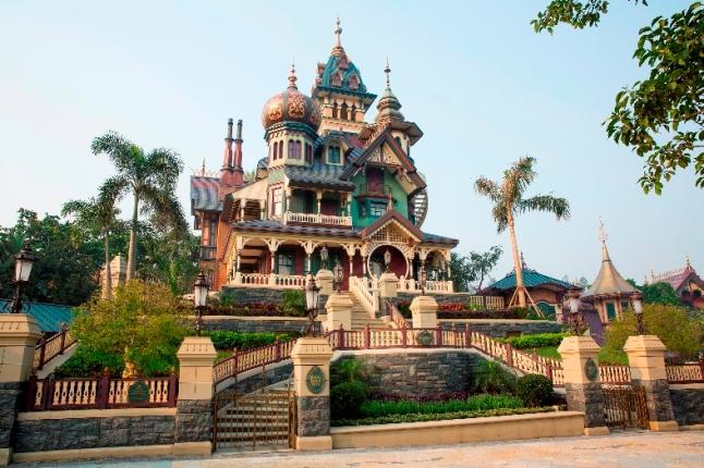 Mystic Point opens up at Hong Kong Disneyland