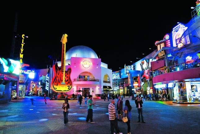 Fun and frolic at Universal Studios