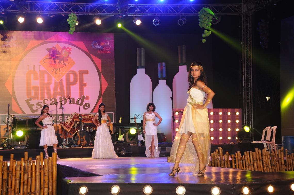 Grape Escapade - Fashion show
