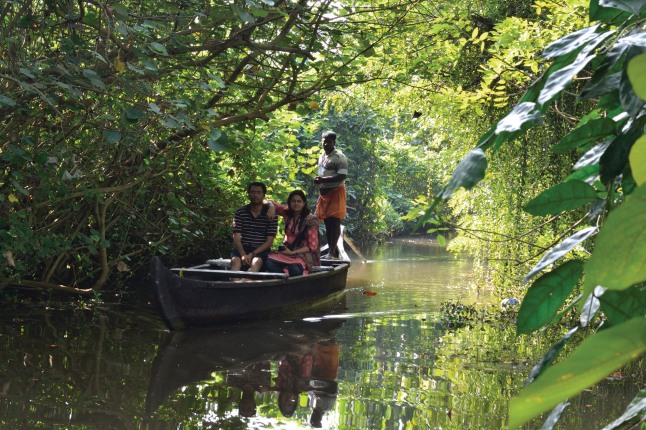 Village Life Experience-A Responsible Tourism project activity at Kumarakom