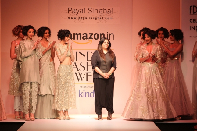 Payal Singhal Collection at AIFW AW 2015 (6)